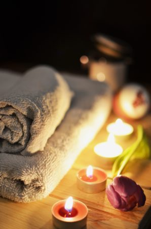 Navel candling