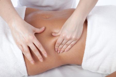 Colon and deep tissue massage