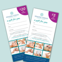 Gift Vouchers - Healing Touch, Bournemouth